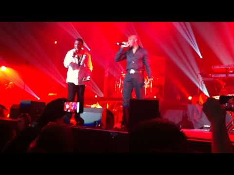 KEITH SWEAT & JOE - TEST DRIVE - LIVE FROM PARIS - 17/10/2010