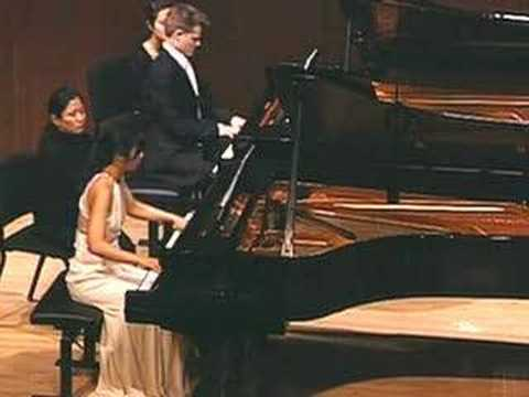 "STAR WARS - ""March of the Ewoks"" on Two Pianos - Anderson & Roe"