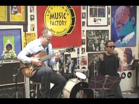John Boutte & Todd Duke @ Louisiana Music Factory 2007