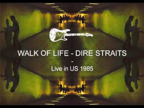 Dire Straits - Walk Of Life RARE Live in Cleveland 1985 w/John Illsley Bass Solo