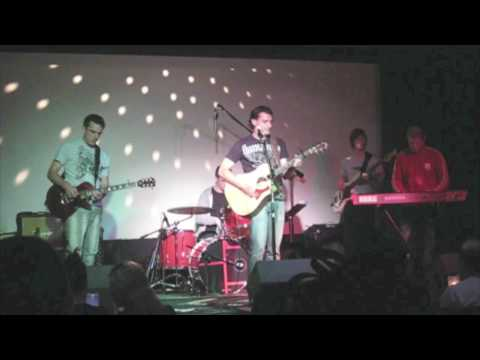 "Eddie K. performs ""Imagine"" Cover with band at Cinespace"