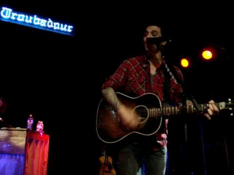 Dashboard Confessional - SCREAMING INFIDELITIES @ Troubadour (November 30, 3009)