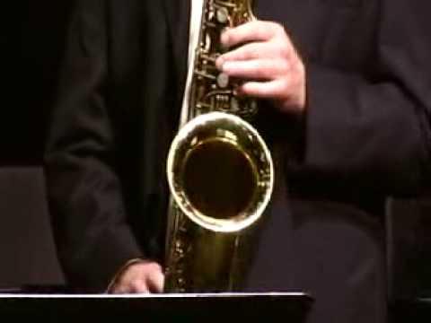 "Cal Poly Jazz Band Combo - Alex Budman - ""Milestones"" (John Lewis 1947)"