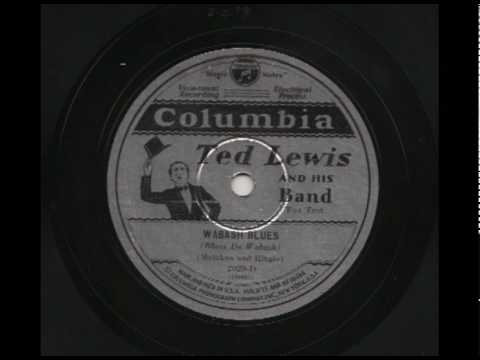 Ted Lewis & His Band - Wabash Blues - Columbia 2029-D