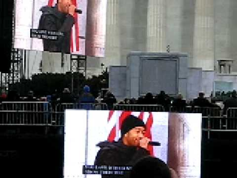 7/17 James Taylor Jennifer Nettles & John Legend @ Barack Obama Inauguration Opening Concert 1/18/09