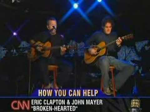 "Eric Clapton & John Mayer - ""Broken Hearted"""