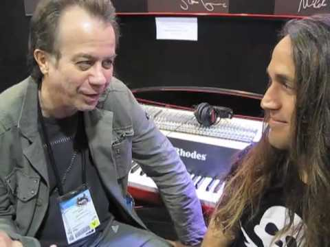 NAMM 2010: John Novello at the Rhodes booth talking about the MIDI Rhodes