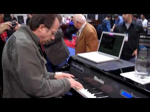 Rhodes Mark 7 Active MIDI Piano played by John Novello