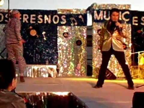 Jailhouse Rock (1957 Version) by Elvis Presley- Levi Silver at the Elvis fest 2011