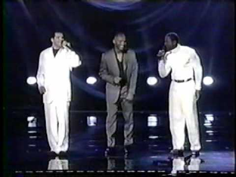 El DeBarge, Johnny Gill, Whitney Houston and Kenny Lattimore