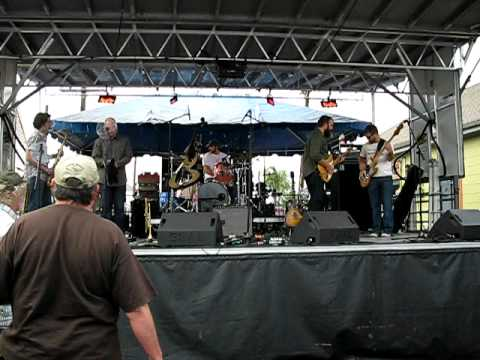 Johnny Sketch & the Dirty Notes @ Po Boy Festival new orleans 2010