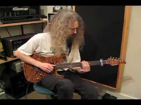 Guthrie Govan playing to Johnny Winter style track