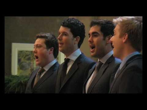 G4 sing Amazing Grace (Jonathan Ansell, Matthew Stiff, Mike Christie and Ben Thapa)