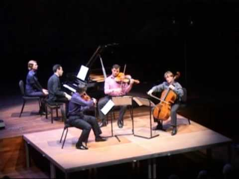 Brahms Piano Quartet no. 2 in A: III. Scherzo. Poco allegro Trio