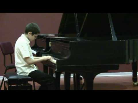 Jonathan Biss masterclass-Ariel plays part 2 of Mozart K330-1/4