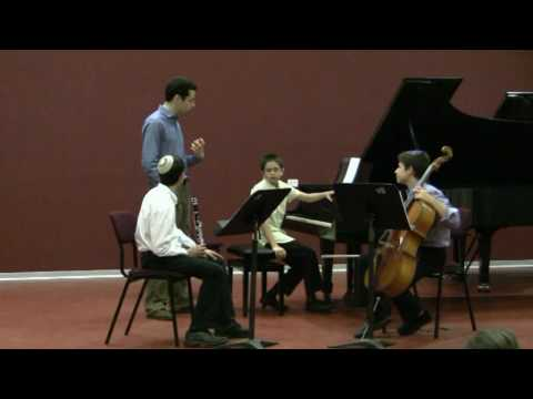 Jonathan Biss masterclass-Beethoven Clarinet Trio Op 11-1/4