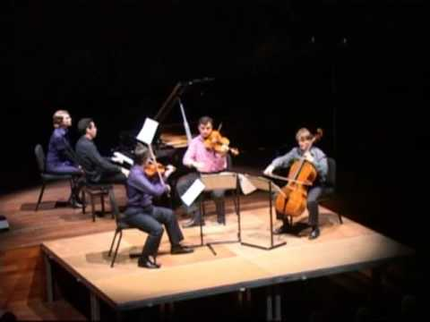 Brahms Piano Quartet no. 2 in A: I. Allegro non troppo (second part)