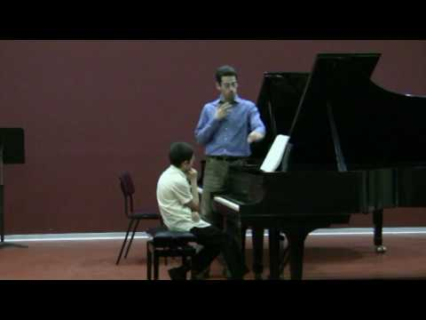 Jonathan Biss masterclass-Ariel plays part 2 of Mozart K330-4/4
