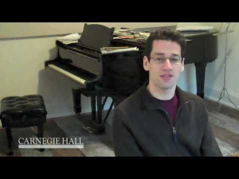 "The Carnegie Hall Debut: Jonathan Biss on the ""Long Walk"""