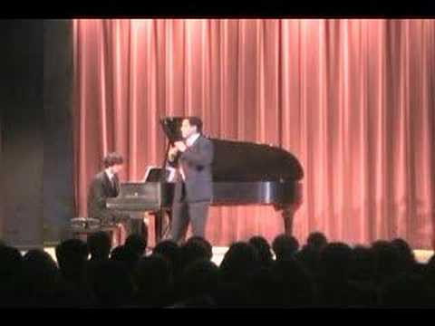 Jorge Arcila sings Aria from Los Martirios de Col�n