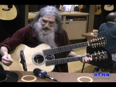 Dan Grigor Plays the $110000 Martin D-100 guitar at NAMM 2010