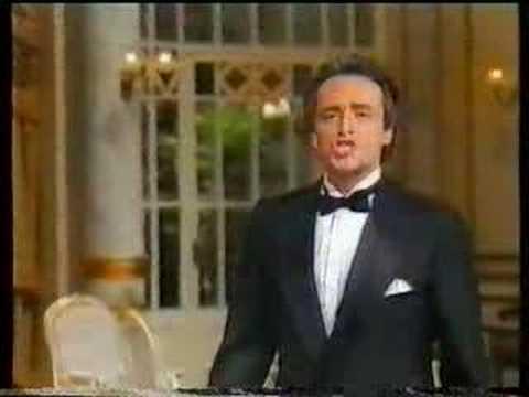 Jose Carreras sings Dein ist mein ganzes Herz