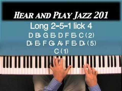 Hear and Play Jazz 201: Another Great Descending Piano Lick To Use On Piano!