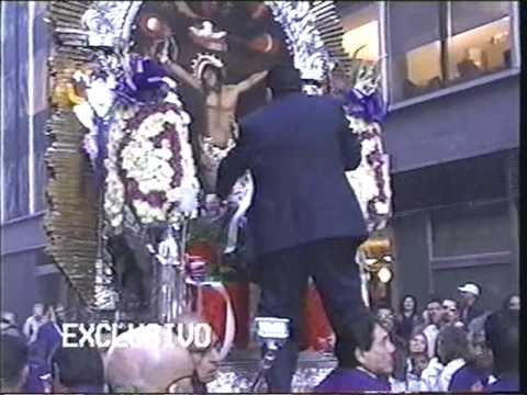 """Procesion Del Se�or de Los Milagros en NY - """"El Martir del Golgota"""" Part 1"""
