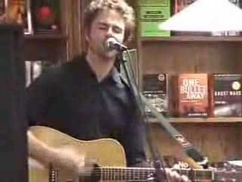 "Josh Ritter: ""Thin Blue Flame"" clip: (Olsson`s Books)"