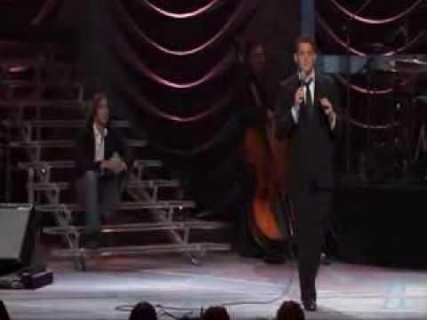 Josh Groban on Michael Buble`s Concert