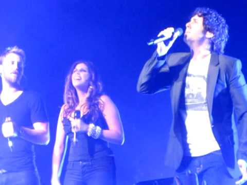 Lady Antebellum & Josh Groban - Hello World @ Wiltern 4/15/10