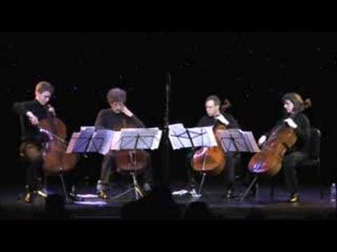 Fisheye - Apocalyptica - Triple Door Cello Quartet
