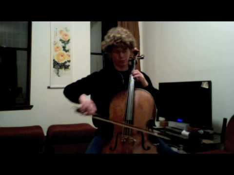 POPPER PROJECT #3: Joshua Roman plays Etude #3 for cello by David Popper