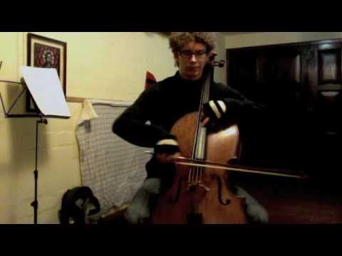 POPPER PROJECT #9: Joshua Roman plays Etude #9 for cello by David Popper