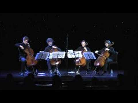 La Muerte Del Angel - Piazzolla-Triple Door Cello Quartet