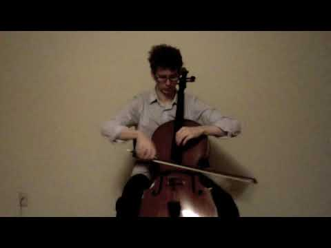 POPPER PROJECT #13: Joshua Roman plays Etude no. 13 for cello by David Popper