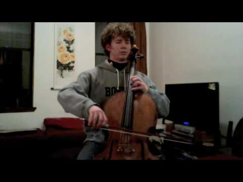 POPPER PROJECT #2: Joshua Roman plays Etude #2 for cello by David Popper