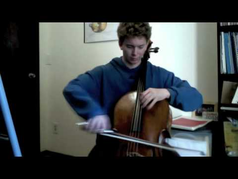POPPER PROJECT #6: Joshua Roman plays Etude #6 for cello by David Popper