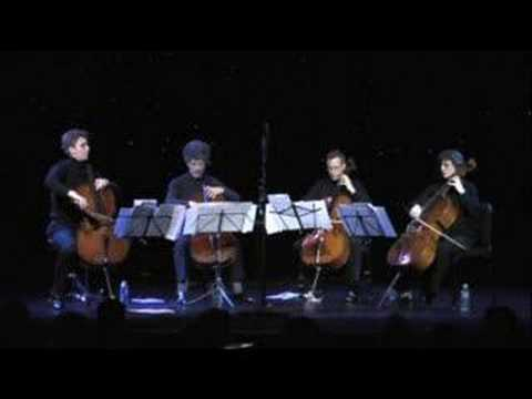 Resurreccion Del Angel- Piazzolla -Triple Door Cello Quartet