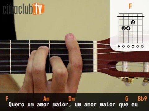 Amor Maior - Jota Quest (aula de viol�o completa)
