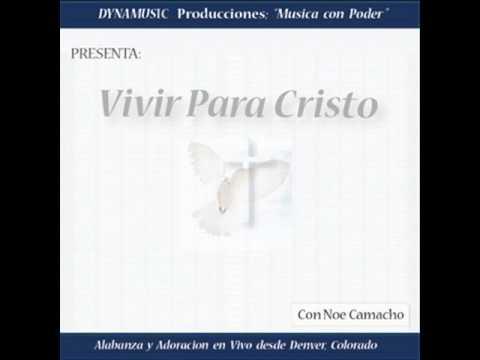 VIVIR PARA CRISTO: Alabanza y Adoracion en vivo con Noe Camacho - Denver, CO 1995 - Rock Cristiano