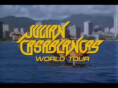 JULIAN CASABLANCAS - WORLD TOUR 2010