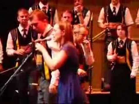 Julie Fowlis with Bagad Kemper at Celtic Connections 2008