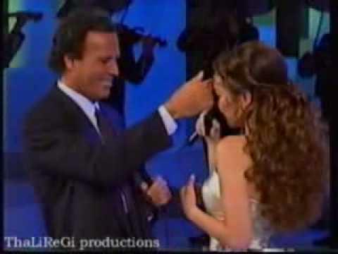 Thalía y Julio Iglesias-Solamente Una Vez