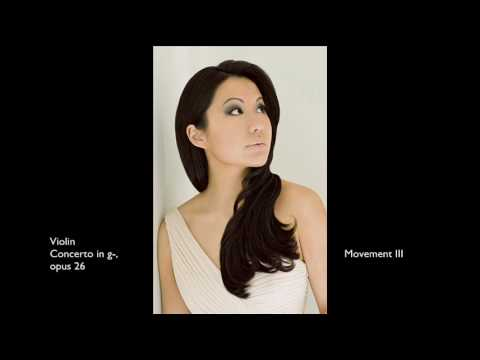 Sarah Chang: Bruch Concerto (Movement III)