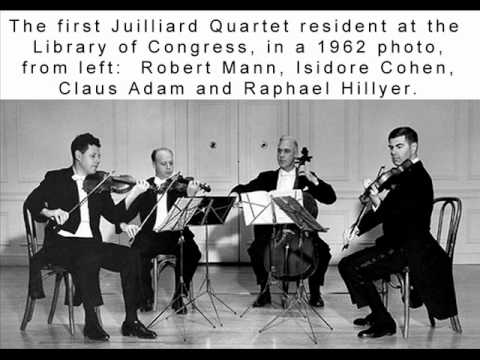 Julliard String Quartet: Quartettsatz in C minor, Op. posth. (Schubert) - 1960, RCA Victor