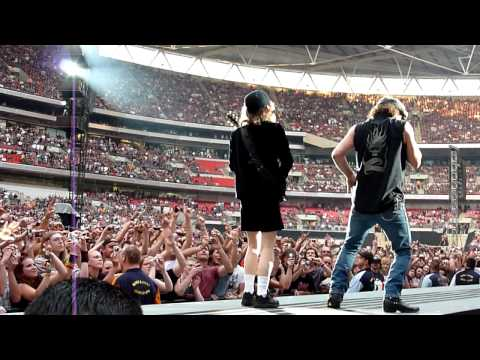 AC/DC Rock N Roll Train Live Wembley Stadium 26/06/2009 720p HD