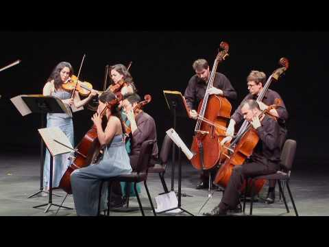ECCO plays Penderecki`s Sinfonietta for Strings (Vivace)