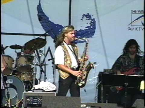 Smooth Jazz Sax - Just To See Her - Greg Vail Band 1995