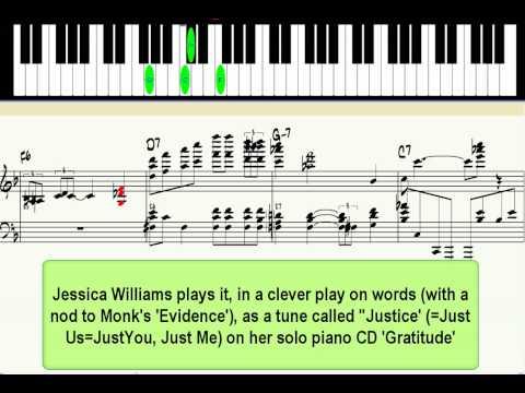 `Just You, Just Me` - jazz piano lesson (advanced)